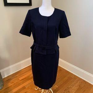 Pendleton Womans Navy Wool career dress  10